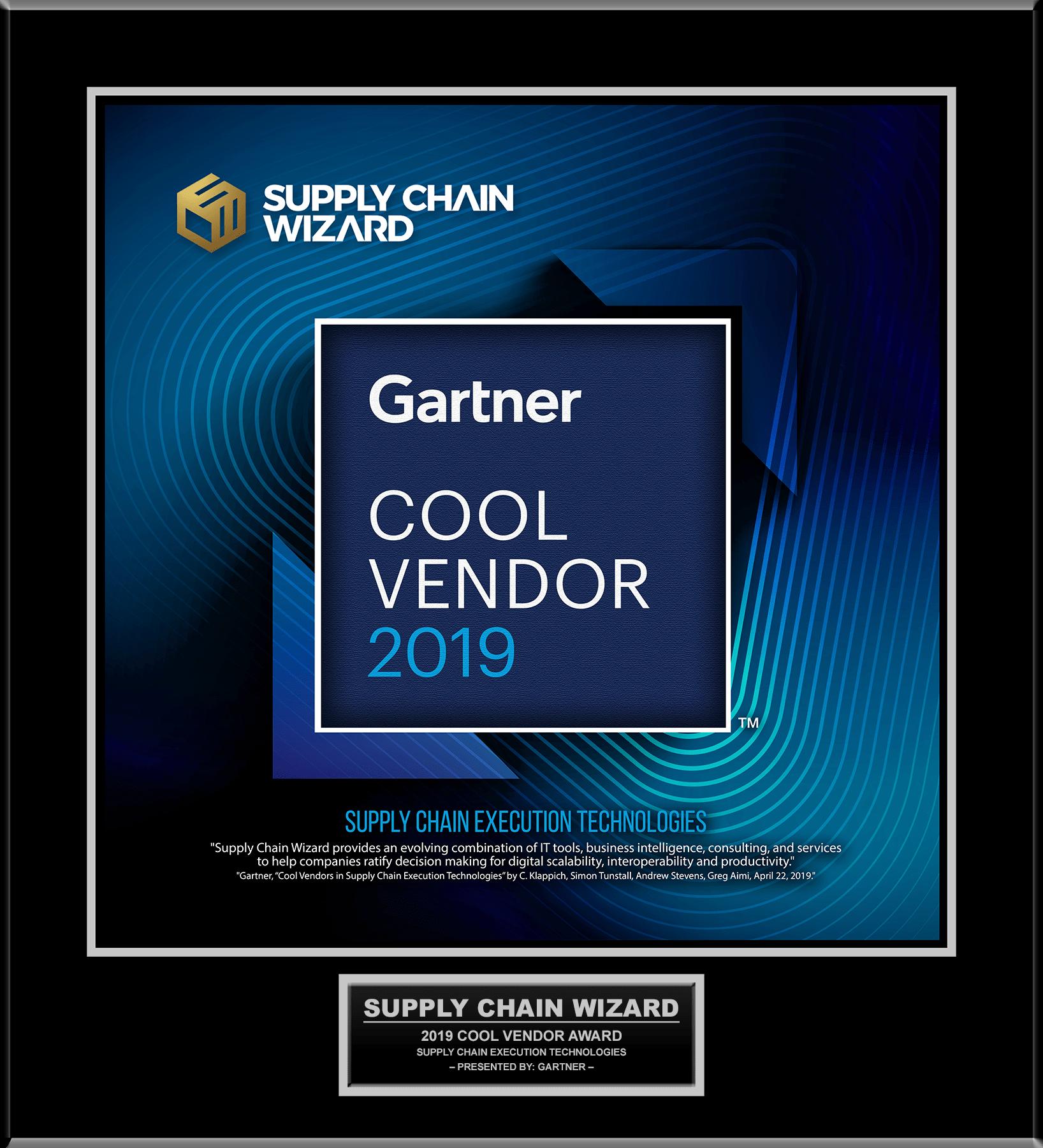 Gartner - Cool Vendor - 2019